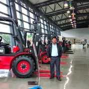 Forklift 3.5 Ton, Mesin Mitsubishi , Bukan Tcm,Bukan Toyota (18173963) di Kota Surabaya