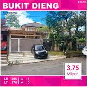 Rumah 2 Lantai Luas 276 Di Bukit Dieng Kota Malang _ 38.18 (18223463) di Kota Malang