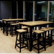 Set Meja Cafe Tinggi