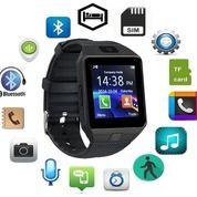 Smartwatch Jam Tangan HP DZ09 U9 GSM Sim Card Strap Karet Termasuk Box