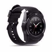 Smartwatch / Jam Tangan HP V8 Bluetooth Sim Card Memory Bisa Tlp Sms