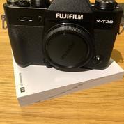 Fujifilm X-T20 Mirrorless Digital Camera Body Only - BLACK (18304383) di Kota Batam