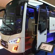 Ready Bus Medium Canter Dan Isuzu 2018 Siap Pakai