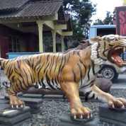 Patung Macan Fiberglass
