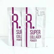 Masker Wajah Dan Tubuh Organik Rospowder Rosella Super Collagen Powder