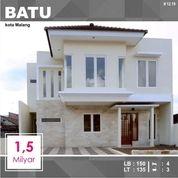 Rumah Baru Murah Luas 135 Di Pesanggrahan Kota Batu Malang _ 12.19 (18403767) di Kota Malang
