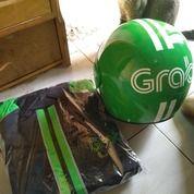 Helm+Jaket GRAB (18404795) di Kab. Bekasi