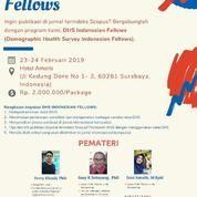 Seminar Dan Workshop DHS Indonesian Fellows 2019 (18412263) di Kota Surabaya