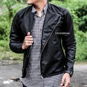Black Hunter Leather Jacket / Jaket Pria / Jaket Kulit SK-52 (18458915) di Kab. Bantul