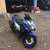 Yamaha Aerox 155 VVA Type R MOVISTAR 2017 (Lengkap Dan Full Orisinil) (18610039) di Kota Medan