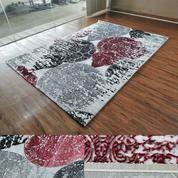 Bosphorus Karpet Permadani Merah160 X 230 Cm Dekorasi Rumah Klasik