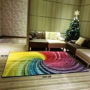 Rainbow Karpet Lantai 230x160 Cm Karpet Permadani Dekorasi Rumah