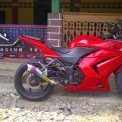 Knalpot Racing R25, Ninja 250 Full System
