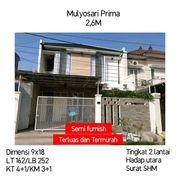 Rumah Murah Mulyosari Prima Mulyorejo Surabaya Dekat Gm Semi Furnish (18629947) di Kota Surabaya