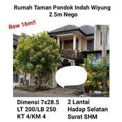 Rumah Murah Taman Pondok Indah Wiyung Surabaya Nego Siap Huni Bebas Banjir (18634027) di Kota Surabaya