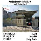 Rumah Murah Pondok Benowo Indah Pakal Manukan Surabaya Siap Huni Nego (18634031) di Kota Surabaya