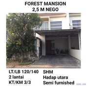 Rumah Murah Forest Mansion Wiyung Surabaya Dekat Wbm Furnish Nego (18651299) di Kota Surabaya
