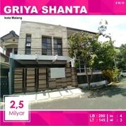 Rumah Hook Baru 3 Lantai Di Griya Shanta Suhat Kota Malang _ 59.19 (18656815) di Kota Malang