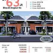 Palm Ville Regency ,Rumah Siap Huni Row Jalan 10 Meter ..Free Smua Biaya Dp Bisa Di Angsur