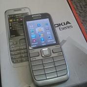 Nokia E52 Silver Komplit
