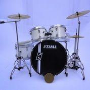 Miniatur Drum Tama Hyperdrive Sugar White