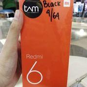 Redmi 6 Ram 4GB Internal 64GB Baru Garansi Resmi TAM