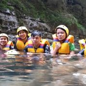 Paket Body Rafting Green Canyon Pangandaran 2019