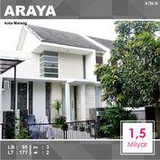 Rumah Murah Luas 177 Di Araya Kota Malang _ 729.18 (18773115) di Kota Malang