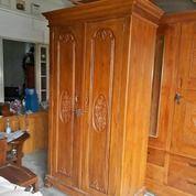 Lemari Pakaian Klasik Mawar 2 Pintu (18786691) di Kota Jakarta Timur