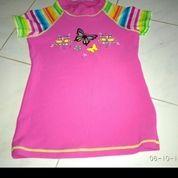 Setelan Pakaian Renang Anak Perempuan Baju + Celana Pendek (18803431) di Kota Tangerang