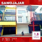 Ruko Murah 3 Lantai Luas 59 Di Danau Toba Sawojajar Kota Malang _ 87.19 (18856535) di Kota Malang