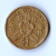 Koin 1 Dollar Singapore 1995 (18892311) di Kota Yogyakarta