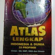 Buku Atlas Lengkap Indonesia & Dunia
