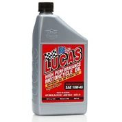 Lucas Oil Semi Synthetic 10W-40 Motorcycle Oil Edisi Troy Lee