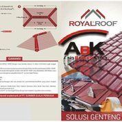 Atap UPVC Royal Roof + Jasa Pemasangan (Harga Sendiri)