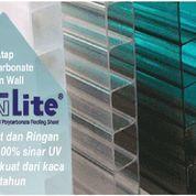 Atap Polycarbonate Twinlite + Jasa Pemasangan (Harga Sendiri)