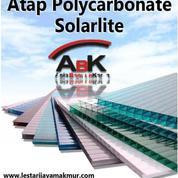 Atap Polycarbonate SOLARLITE + Jasa Pemasangan (Harga Sendiri)