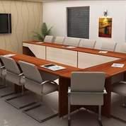 Meeting Table Multiplek Hpl Untuk Kantor Harga Murah (18944599) di Kab. Banyumas