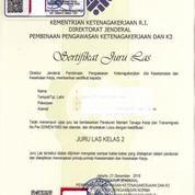 Jasa Kepengurusan Dan Pelatihan Sertifikasi Welder Juru Las (18962719) di Kota Bekasi