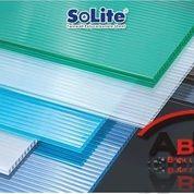 Atap Polycarbonate Solite + Jasa Pemasangan (Harga Sendiri)