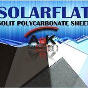 Atap Polycarbonate SolarFlat + Jasa Pemasangan (Harga Sendiri)