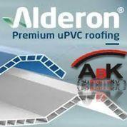 Atap Roof Top UPVC Alderon Deck + Jasa Pemasangan (Harga Sendiri)