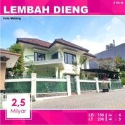 Rumah Hook 2 Lantai Luas 236 Di Lembah Dieng Kota Malang _ 116.19