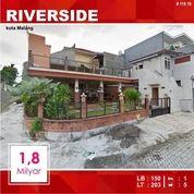 Resto Cafe Luas 203 Di Riverside Arjosari Kota Malang _ 119.19 (19012239) di Kota Malang