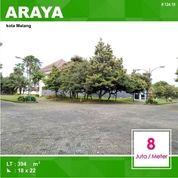 Tanah Hook Luas 394 Di Villa Golf Boulevard Araya Kota Malang _ 124.19