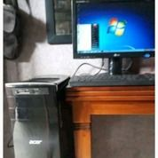 """PC ACER Dan Monitor LG 17 """""""