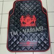 Karpet Mobil Universal Motif JP Junction Produce DAD Mahkota Logo Merah Dasar Hitam (19019111) di Kota Jakarta Pusat