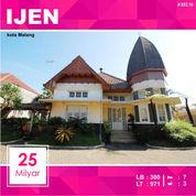 Rumah Kolonial Di Kawasan IJEN Kota Malang _ 653.18