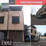 Ruko Duri Kosambi, Jakarta Barat, 6x15m, 3 Lt, SHM (19030703) di Kota Jakarta Barat