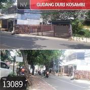 Gudang Duri Kosambi, Jakarta Barat, 12x35m, 1 Lt, SHM (19034095) di Kota Jakarta Barat